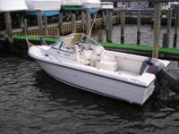 1995 21ft pursuit cuddy cabin with 1995 150hp Yamaha 2