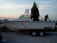 I have a 1992 2350 pursuit lake michigan angling