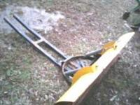 I have a push blade for a four wheeler or a riding
