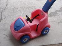 Step 2 push car for toddler. Extended handle makes it