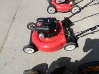 this is a 21in yardsmachine lawn mower. it has a 5.0 hp