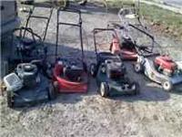 some just need pull strings others idk 20 a mower take