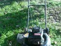Working push mower, runs great, cuts great!! Please