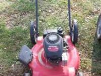 2 - push mowers $20 each cash only please call