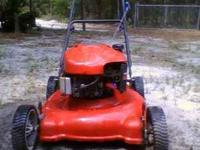 I have a Troy Bilt 21' 650 series 190cc push works fine