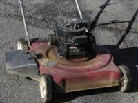 I have a great working push mower for sale. willing to