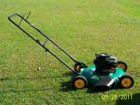 For Sale 4.5hp push mower, just serviced, oil, plug,