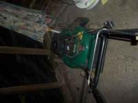 Push mower for sale. Works great!! Asking $50. Please