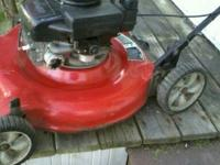 GREAT MOWER TUNED UP WAITING FOR U !!! I AM LOOKING FOR