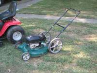 Ranch King Push Mower 5.5 HP Briggs & Stratton New Fuel