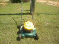 Yardman push mower 6.5 hp $75.00 for more info call