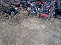 I have ready for season serviced mowers, trimmers,