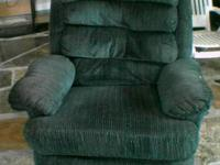 I have up for sale a rocker recliner that's so