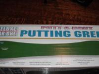 putting green new in box never used.  original price  $