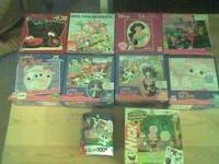 I have 10 puzzles, 7 of them are 24 pieces (age 3-7) ,