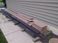 Extra PVC Wolf decking and supplies from recent deck