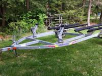 Double Yacht Club PWC Trailor-Excellent condition