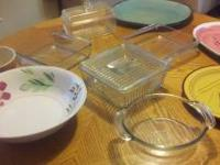Theres only afew left..vintage Pyrex . lots of