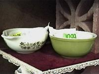There is Pyrex Mixing Bowls and Baking Dishes, Corning
