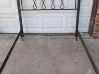 METAL HEAVY DUTY HEADBOARD CALL OR TEXT IF
