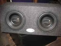 Q.Reference Series Speaker by Alphasonik Asking $100.00