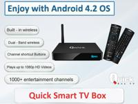 Qbox Group Launched Android Streaming Box for your
