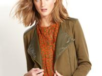 Layer on chic style with this QMack motorcycle jacket