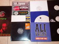 "Misc. Hip Hop 12"" Record Singles (All vinyl in VG+"