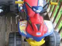 This power wheel is in good condition and it has a