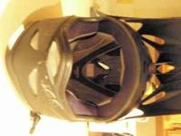 This is a GIRO Dirt bike/motorcycle helmet. Has been
