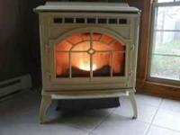 Exceptional pellet stove for sale here. The Mt. Vernon