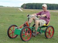 Quadricycle, Four Wheel Bicycle and Motorized