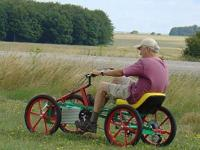 Quadricycle Solar-Pedal-Electric-Gas 1-2-4-6 seat,