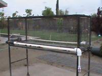 I a quail laying cage made out of 1 inch square tubing,