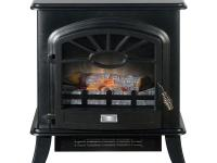 The Quality Craft Electric stove heater features an