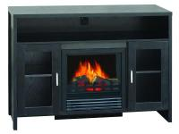 This 42 inch electric fireplace mantel with its