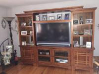 I am selling a Quality Entertainment Center that was