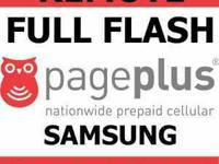 Flash Flash Flash Your Sprint android to Page Plus With