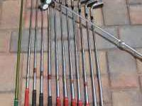 I have a complete golf set of high end golf clubs for