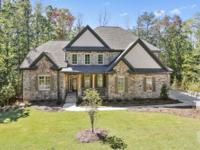 Quality new construction home on the golf course in