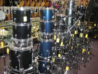 We have several preowned drum sets for sale.  Ludwig,