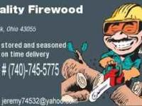 I have well seasoned mixed hardwood firewood for sale..