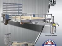 Quality Steel Aluminum 10' UtilityTrailer Retail Price: