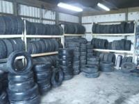 Quality Utilized Tires.  ANY SIZE, ANY TIRE, In Stock