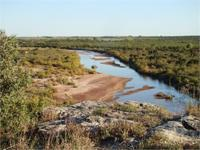 This northwest Texas cattle ranch is found on