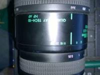 I have for sale, a Quantaray Tech 10 NF AF 70-300mm 1:4