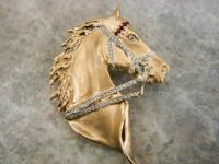 This elegant 14k Gold Horse charm is for sale. The