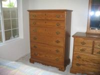 FOR SALE: 6 piece Solid Oak bedroom set built by