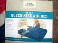 NEW QUEEN SIZE AIR MATTRESS COMES WITH NO PUMP COST ME$