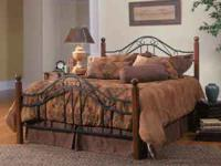Great Quality Wood and Metal Bed Frame! Brand New!!